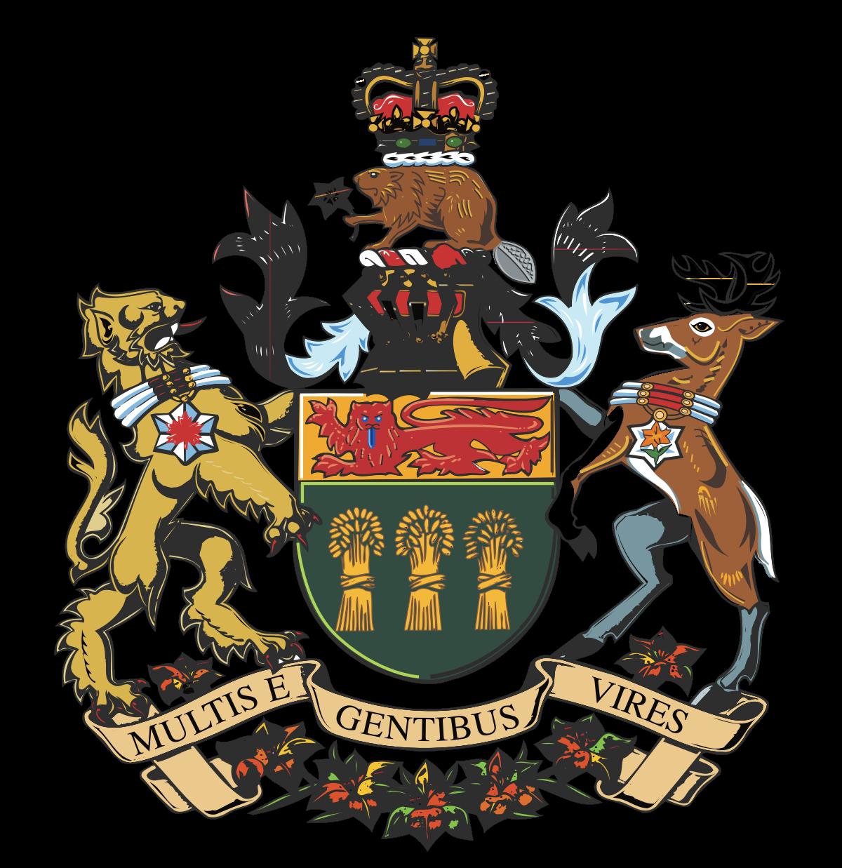 Armoiries de la Saskatchewan — Wikipédia.