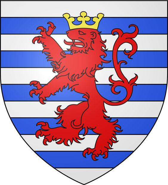 Blason ville lu Luxembourg.