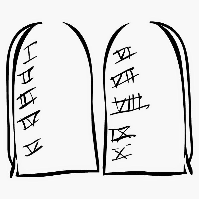 Ten commandments clipart blasphemy, Ten commandments.