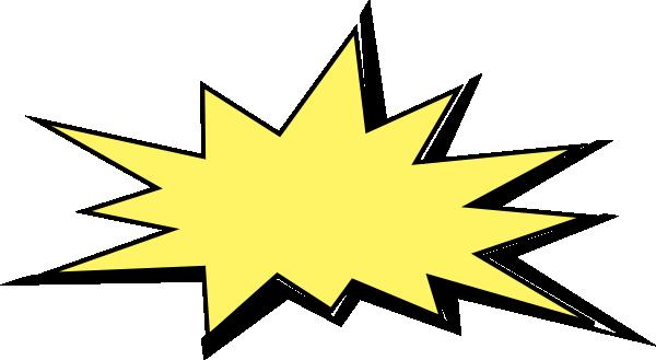 Star blast clipart.