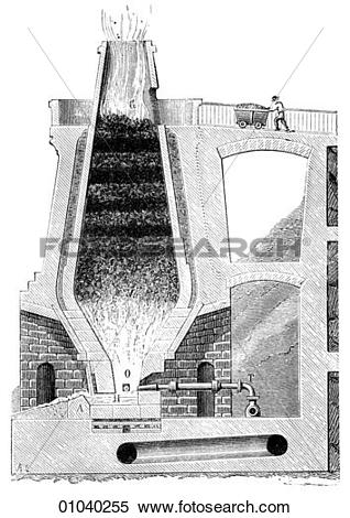 Stock Illustration of Industry & Technology.