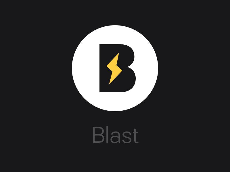 Blast Logo by Hunter Hastings on Dribbble.
