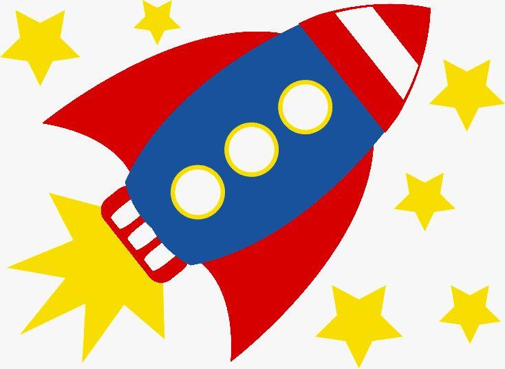 Rocket ship blast off clipart.
