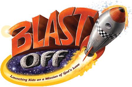Blast off vbs clipart.