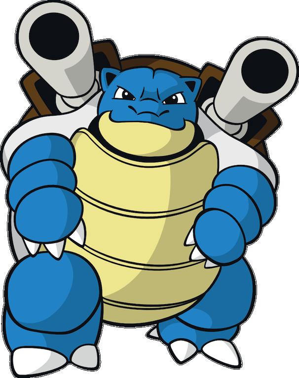 Pokemon Blastoise Clipart.