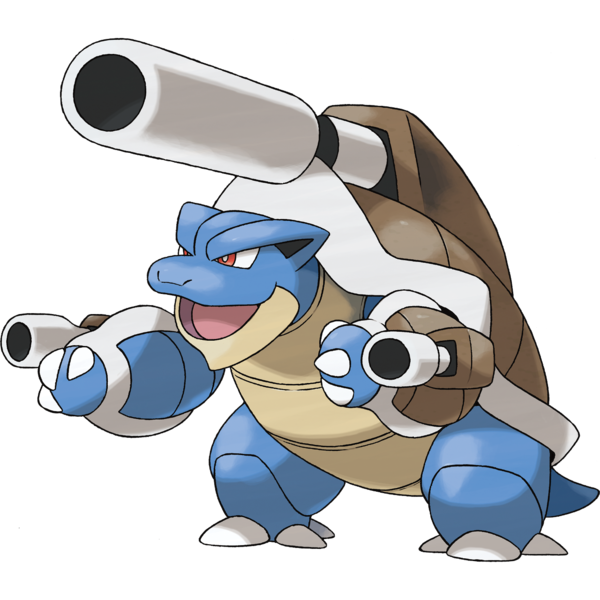 Blastoise screenshots, images and pictures.