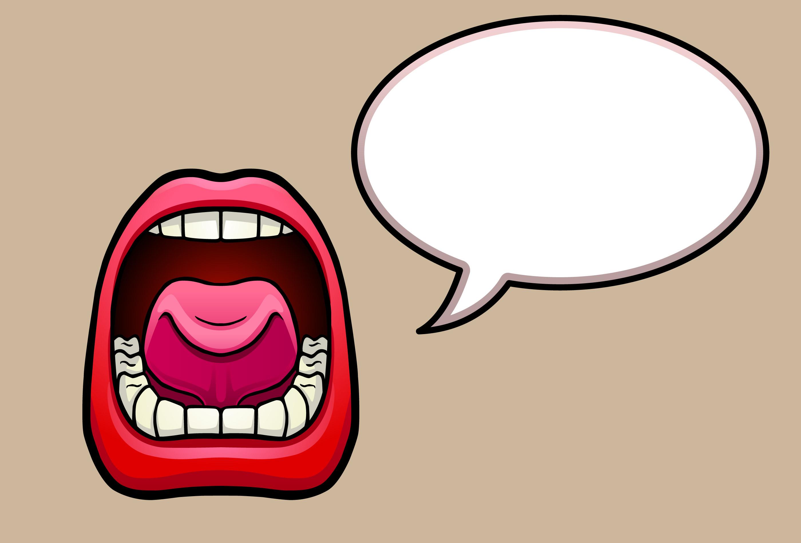 talking.