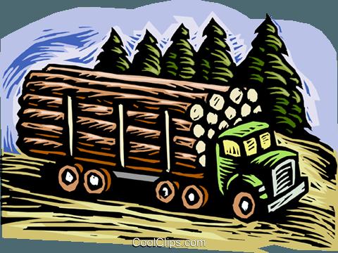 Forstwirtschaft, Holz.