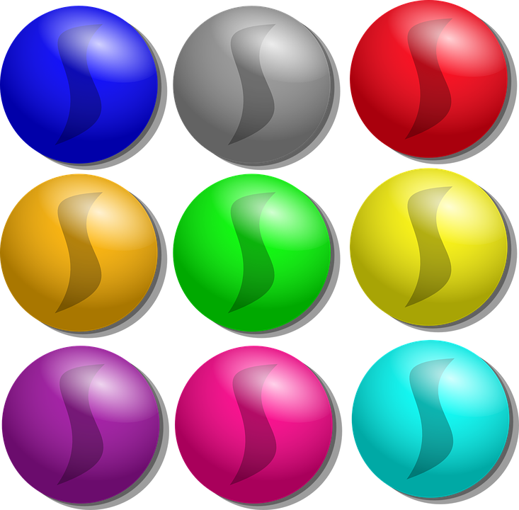 Free vector graphic: Marbles, Colorful, Round, Glass.
