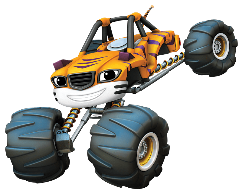 Blaze and the Monster Machines Stripes transparent PNG.