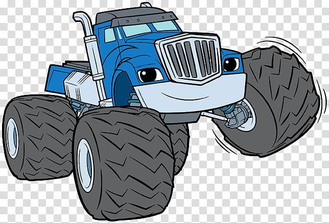 Monster Cartoon, Zeg, Darington, Drawing, Crusher, Machine.