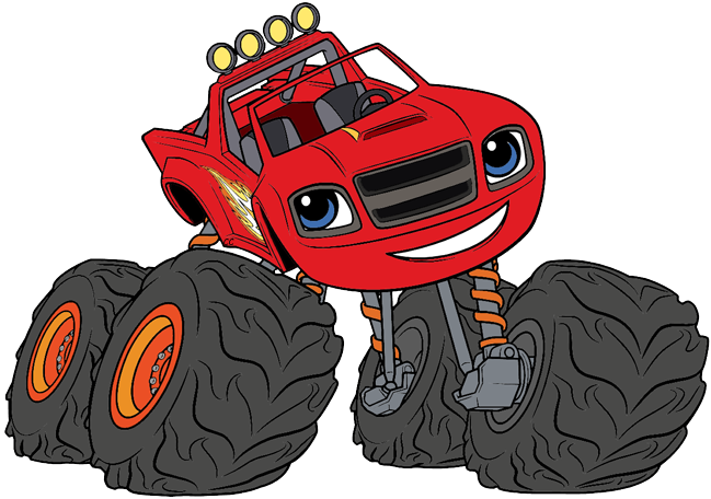 Blaze and the Monster Machines Clip Art.
