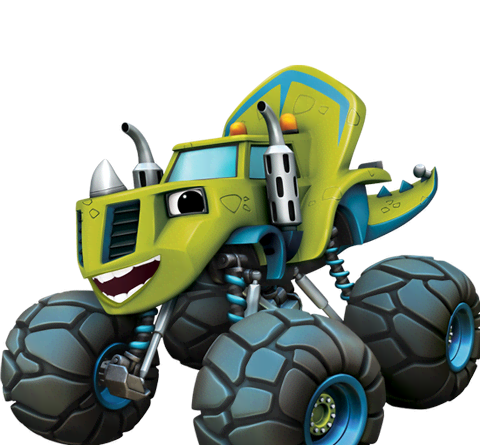 Zeg from Blaze and the Monster Machines.