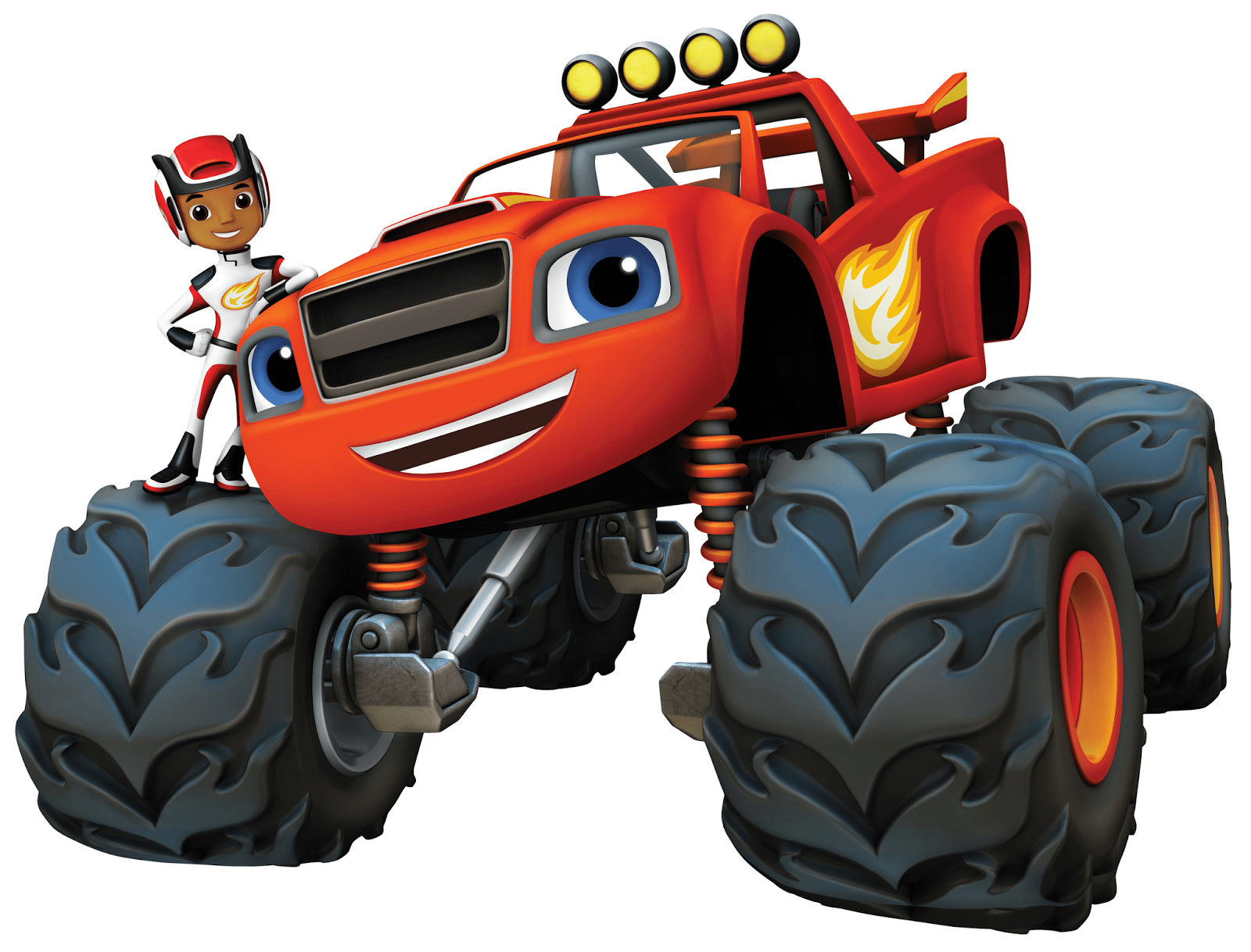 NickALive!: Prepare For Monster Truck Adventures In