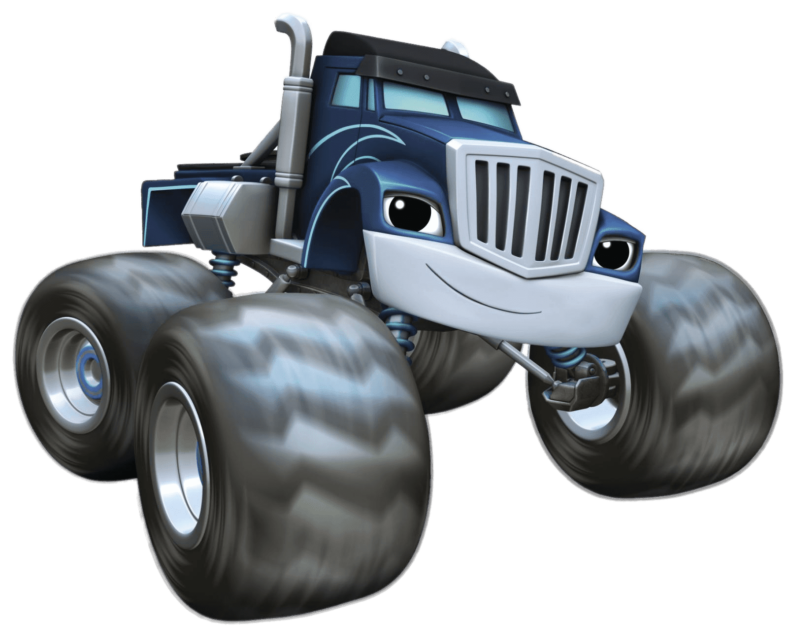 Cartoon Characters: Blaze and The Monster Machines (PNG).