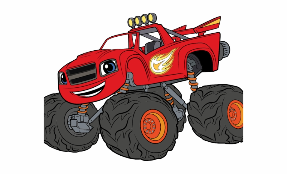 Blaze And The Monster Machines Clipart, Transparent Png Download For.