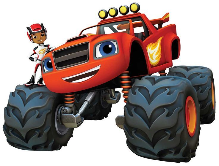 blaze and the monster machines clipart.