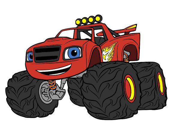 Blaze And The Monster Machines Clipart (104+ images in Collection.