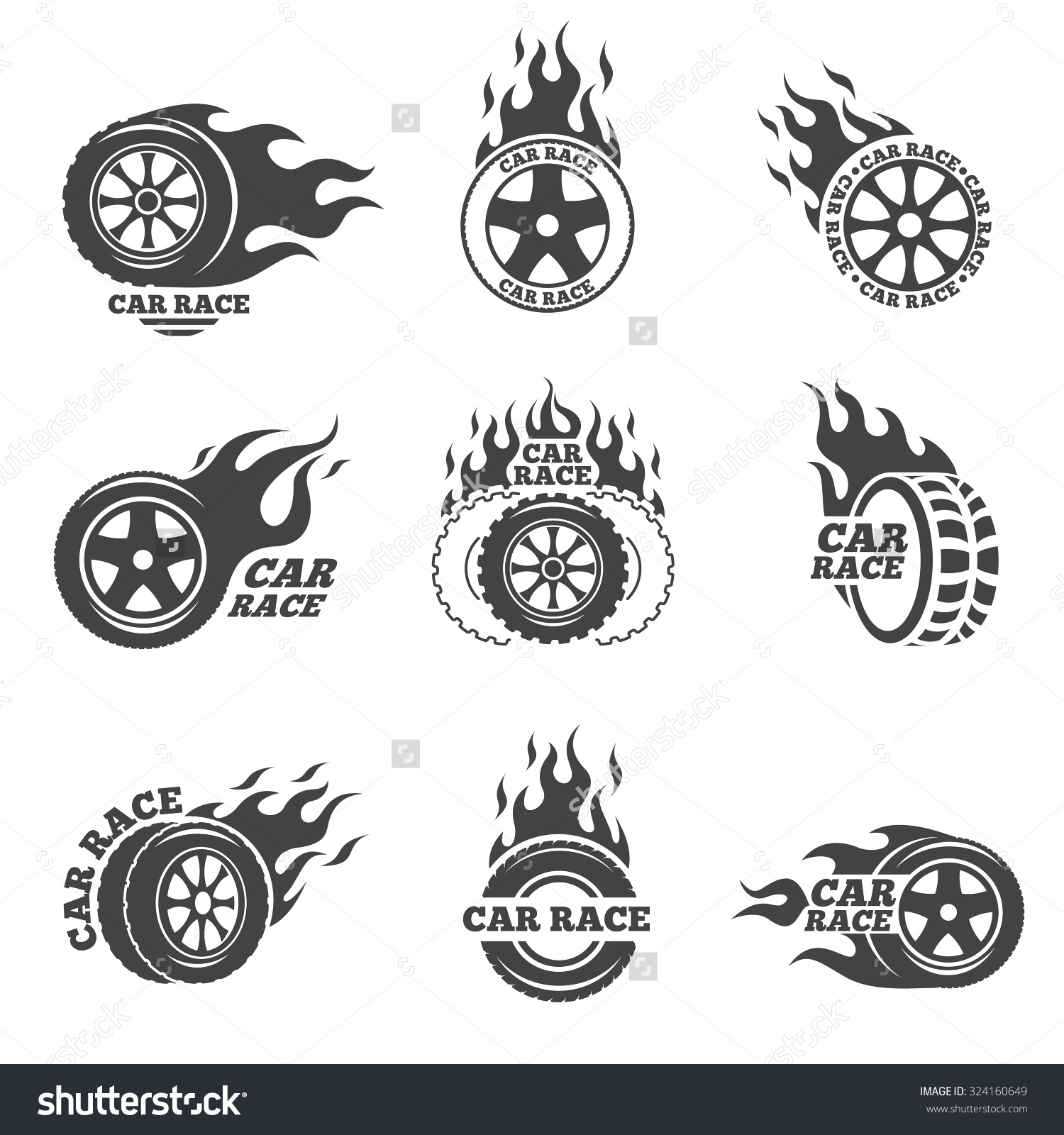 Blaze In Car Clipart.