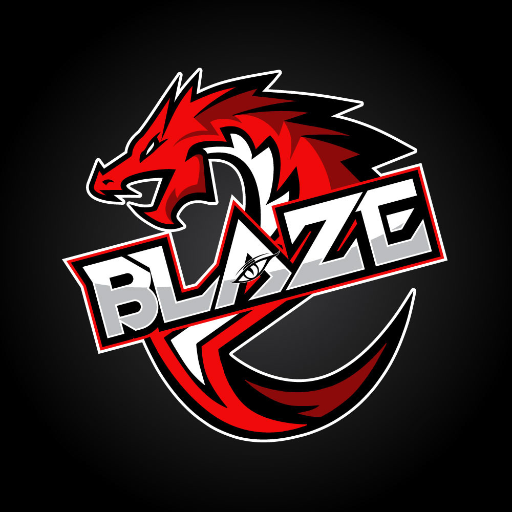 Blaze Dragonz Logo on Behance.