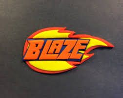 Image result for blaze and the monster machines logo.