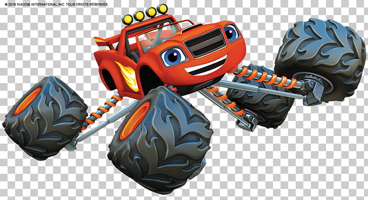 Monster truck Car Drawing Dessin animé, blaze PNG clipart.
