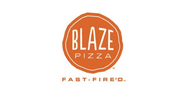 Blaze pizza Logos.