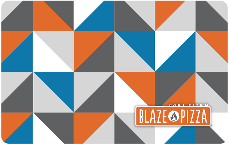 Buy a Gift Card for Blaze Pizza.