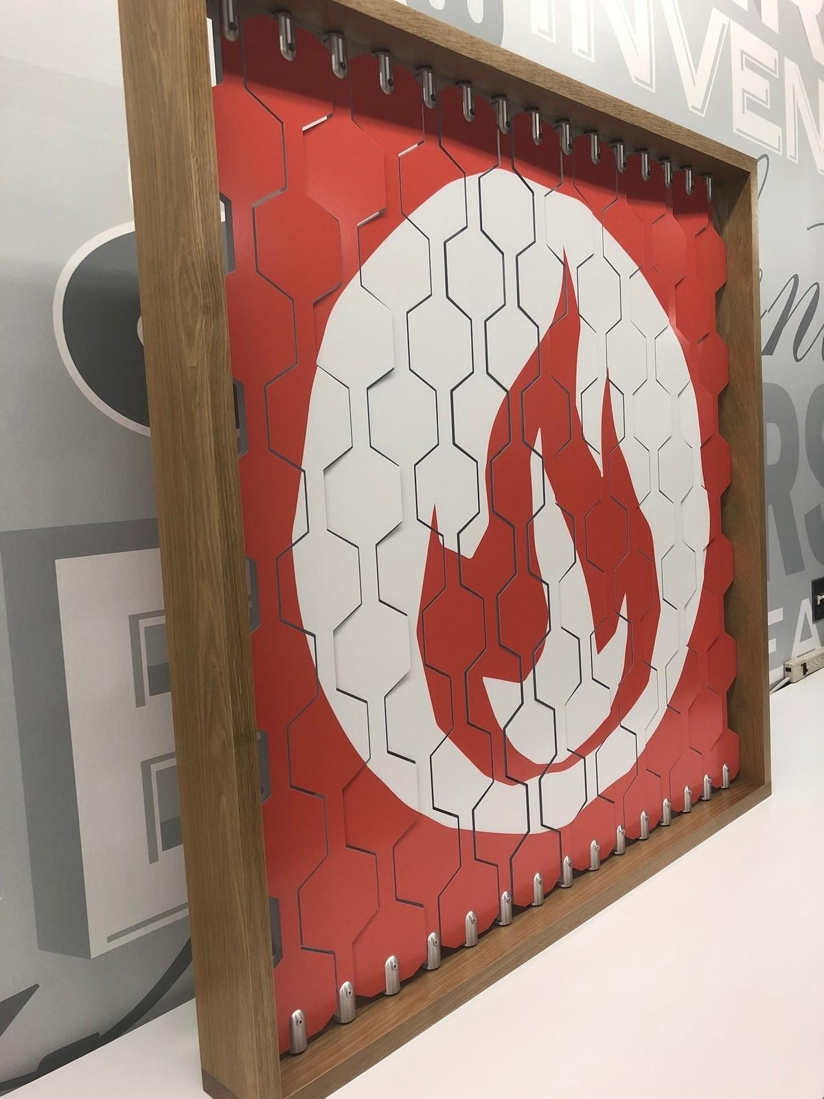 Blaze Pizza Logo Glorifier.