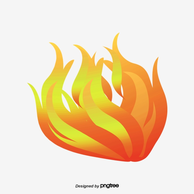 A Blaze Of Fire, A Slice, Burning, Cool Flame PNG and Vector for.
