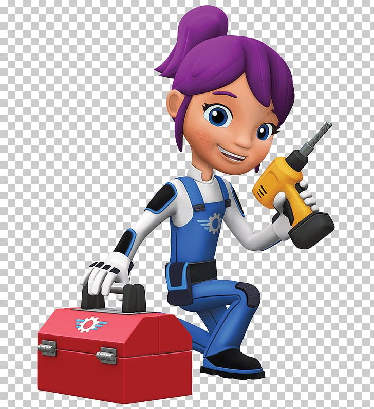 Blaze And The Monster Machines Gabby With Toolbox PNG, Clipart, At.