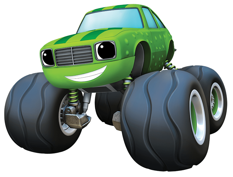 Blaze and the Monster Machines Pickle transparent PNG.