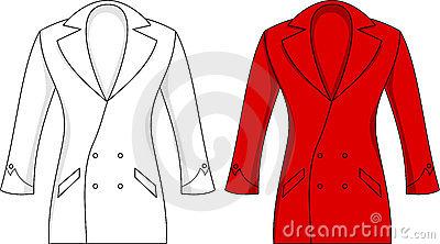 Women in blazer clipart.
