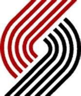Portland Trailblazers, old school blazer logo.