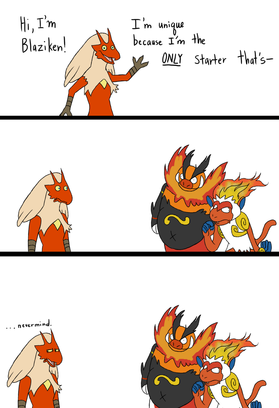 blaziken best fire/fighting.