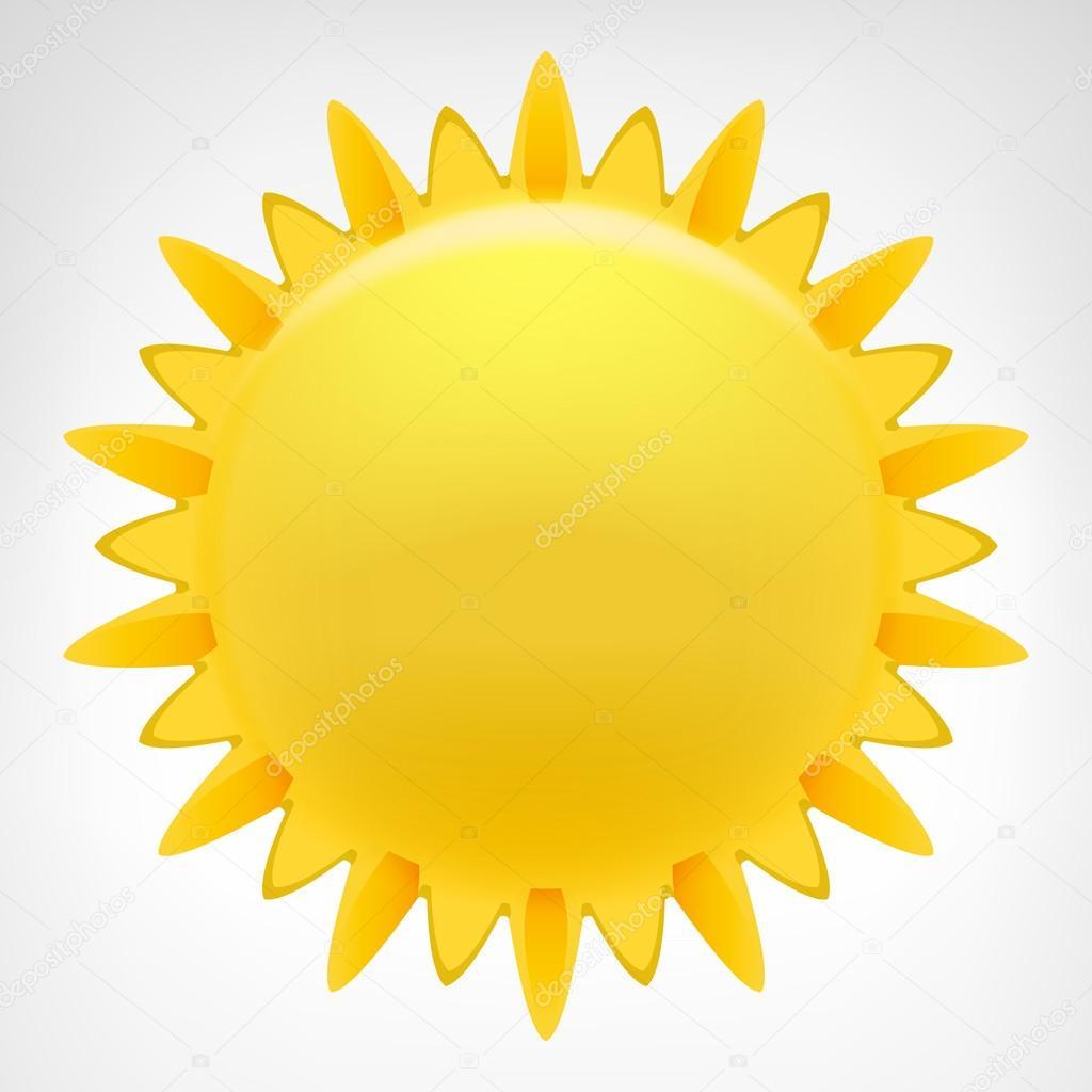 Blazing sun clip art — Stock Vector © Adikk #55199033.
