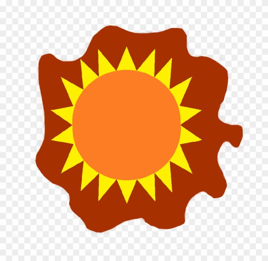 Blazing Sun Cm Trans Clipart (#2513129).