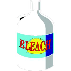 Bleach Bottle Clipart.
