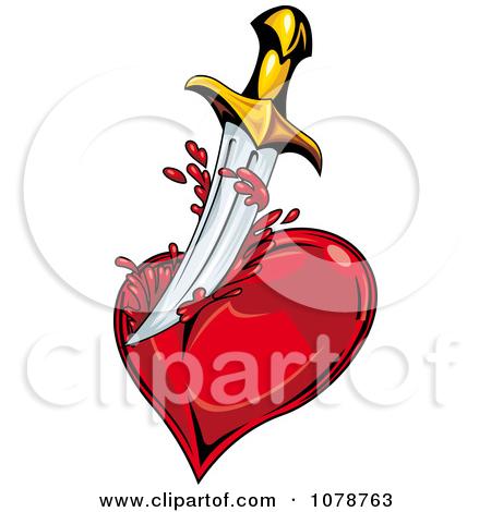 Bleeding heart clipart #11