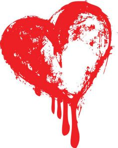 Bleeding heart clipart.
