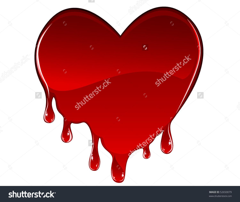 Bleeding heart clipart #5