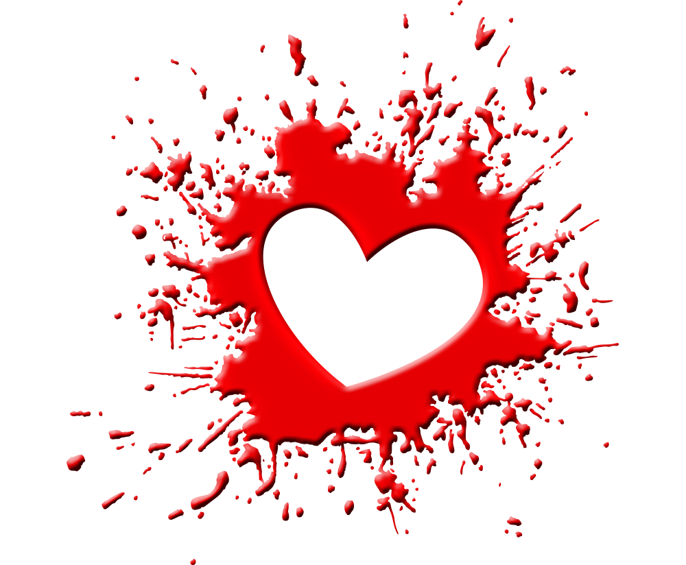 blood splash png heart transparent background image free png.