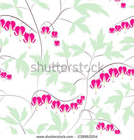 Bleeding Heart Flower Stock Photos, Royalty.