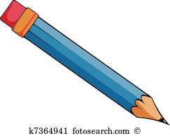 Bleistift Clipart Lizenzfrei. 158.032 bleistift Clip Art Vektor.
