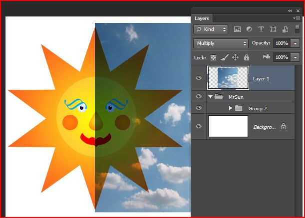 How To Blend Clipart In Photoshop.
