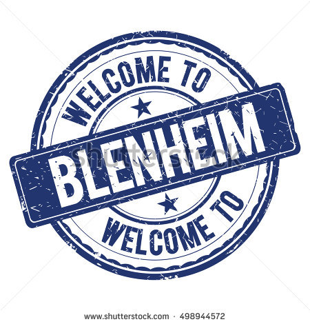 Blenheim Stock Photos, Royalty.