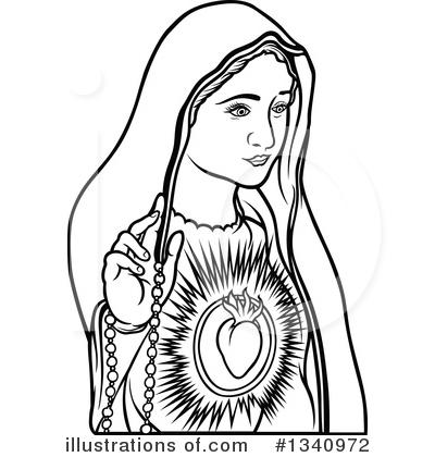 Virgin Mary Clipart #1340972.
