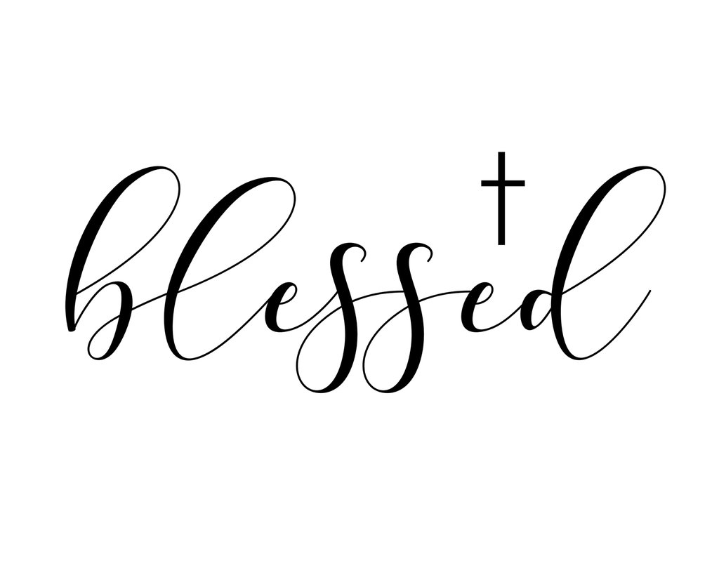 Download Free png Blessed SVG, PNG, DXF.