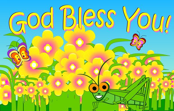 Christian Blessings Clipart.