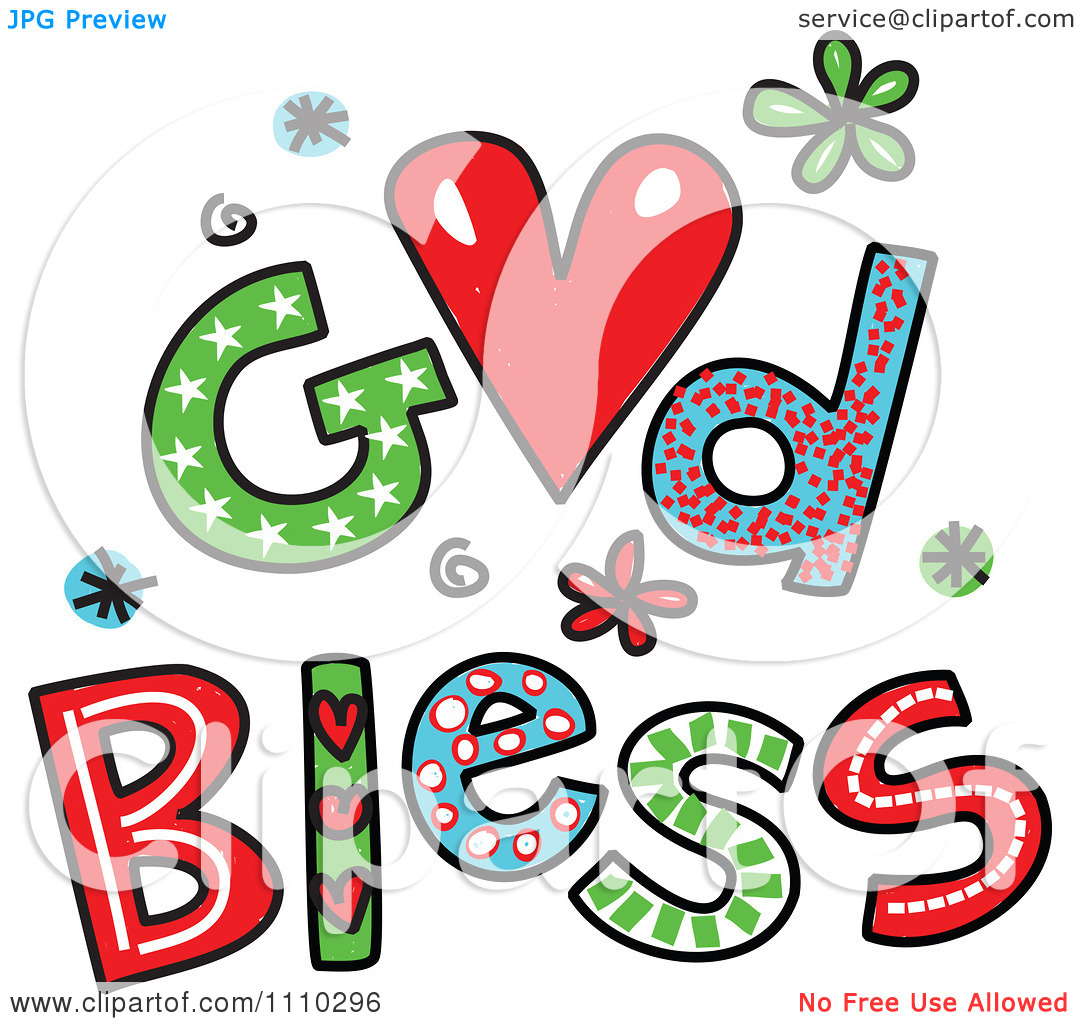 Wednesday blessings clipart.